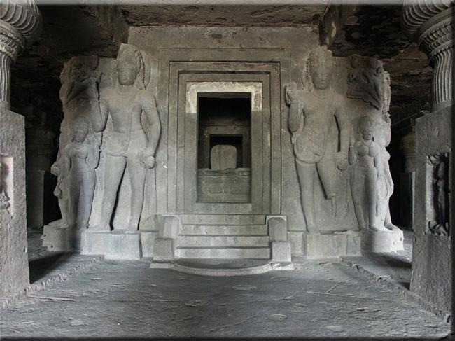 Grottempels van het oude india coen vonk - Grot ontwerp ...